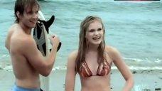 4. Sara Paxton in Bikini – Summerland