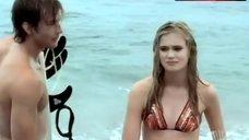 6. Sara Paxton in Bikini – Summerland