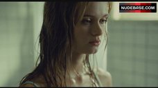 7. Sara Paxton Hot Scene in Bathroom – The Last House On The Left