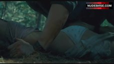Sara Paxton Rape Scene in Forest – The Last House On The Left