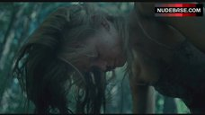 12. Sara Paxton Rape Scene in Forest – The Last House On The Left