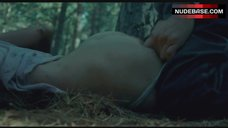 2. Sara Paxton Rape Scene in Forest – The Last House On The Left