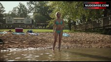 2. Sara Paxton in Blue Bikini – Shark Night 3D