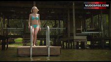 1. Sexy Sara Paxton in Bikini – Shark Night 3D