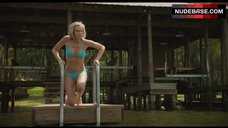 2. Sexy Sara Paxton in Bikini – Shark Night 3D