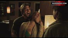 3. Sara Paxton Nipple Peeking Out of Bra – Shark Night 3D