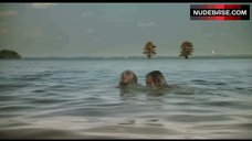 10. Sara Paxton Bikini Scene – Shark Night 3D