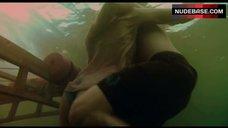 6. Sara Paxton Bikini Scene – Shark Night 3D