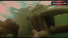 8. Sara Paxton Bikini Scene – Shark Night 3D