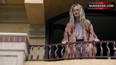 Sara Paxton in Panties on Balcony – Murder In The First