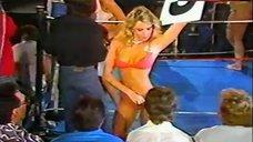 Traci Lords in Pink Bikini – Foxy Boxing