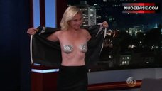 Alexandra Wentworth Topless – Jimmy Kimmel Live