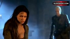 4. Rhona Mitra Decolltte – Beowulf