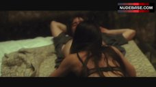 2. Rhona Mitra Sexy in Lingerie – The Number 23