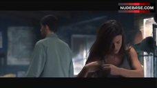 1. Rhona Mitra in Black Bra and Panties – Highwaymen