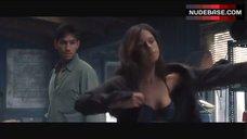9. Rhona Mitra in Black Bra and Panties – Highwaymen