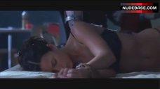 3. Rhona Mitra in Sexy Bra and Panties – Highwaymen