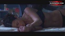5. Rhona Mitra in Sexy Bra and Panties – Highwaymen