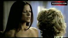 6. Rhona Mitra Lesbian Scene – NipGroup Sex,Tuck