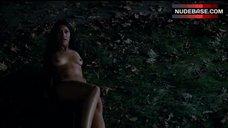 2. Janina Gavankar Naked Outdoor – True Blood