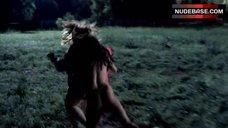 3. Janina Gavankar Breasts Exposed – True Blood