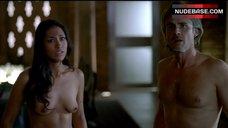 6. Janina Gavankar Full Nude – True Blood
