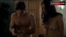6. Janina Gavankar Topless – True Blood