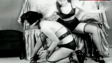 Sexy Bettie Page in Lingerie – The Second Initiation Of The Sorority Girl