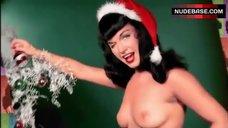 Bettie Page Topless Photo – The Girls Next Door