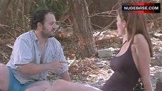 Sexy Jeri Ryan in Swimsuit – The Last Man
