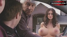 10. Melanie Papalia Naked Boobs – American Pie Presents: The Book Of Love