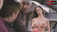 5. Melanie Papalia Naked Boobs – American Pie Presents: The Book Of Love