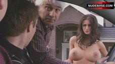 8. Melanie Papalia Naked Boobs – American Pie Presents: The Book Of Love