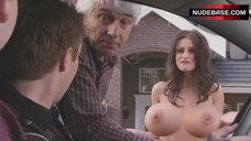9. Melanie Papalia Naked Boobs – American Pie Presents: The Book Of Love