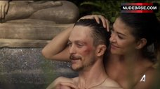 Jessica Szohr Hot Scene in Jacuzzi – Kingdom