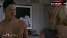 10. Nicky Whelan Side Boob – Satisfaction