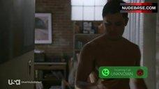 4. Nicky Whelan Side Boob – Satisfaction