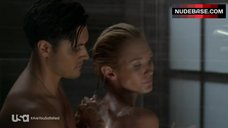 3. Nicky Whelan Shows Tit in Shower – Satisfaction