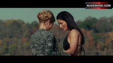 6. Nicky Whelan Lesbian Kiss – Inconceivable