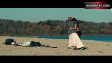 7. Nicky Whelan Lesbian Kiss – Inconceivable