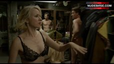 Naomi Watts Shows Sexy Bra in Locker Room – Birdman