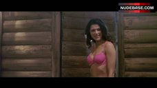 Christina Ulloa in Pink Bikini in Sauna – 247F
