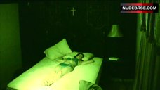 Erin Marie Hogan in Bra and Panties – Paranormal Entity