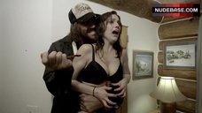 Erin Marie Hogan in Black Bra – Axeman At Cutter'S Creek