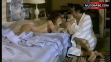 Marlene Jobert Lying Naked on Bed  – La Guerre Des Polices