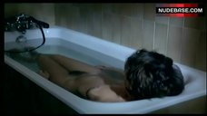 Marlene Jobert Boobs and Hairy Bush in Bathtub – L' Amour Nu