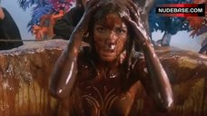 10. Carole Laure Bathed Nude in Chocolate – Sweet Movie