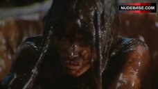 4. Carole Laure Bathed Nude in Chocolate – Sweet Movie
