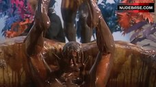 8. Carole Laure Bathed Nude in Chocolate – Sweet Movie
