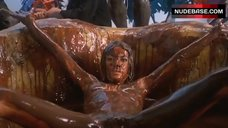 9. Carole Laure Bathed Nude in Chocolate – Sweet Movie